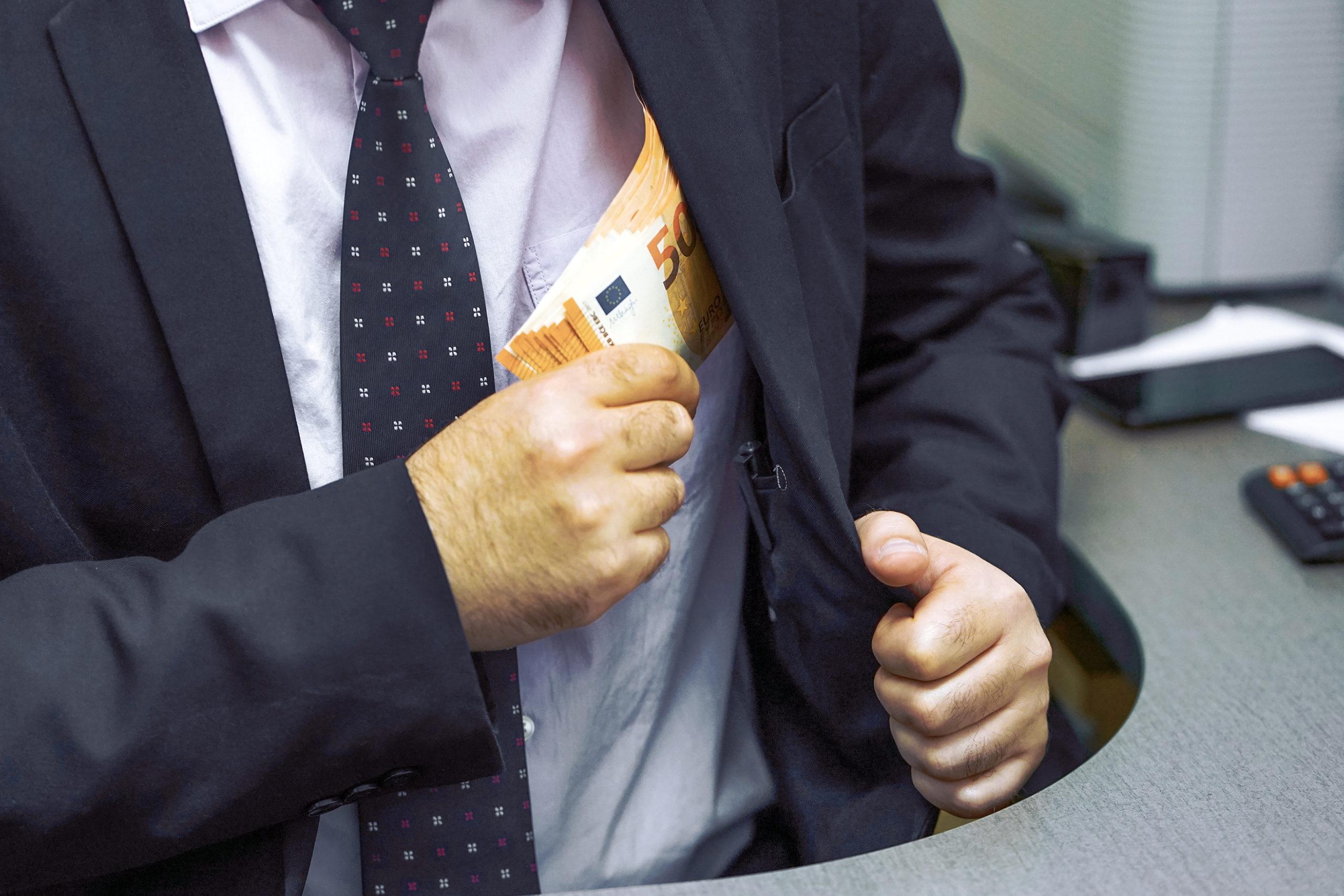 Korruption: In vielen Unternehmen und Institutionen ein Problem (Symbolfoto: shutterstock.com/lunopark)